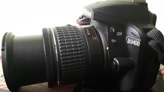 Nikon D3400 Cargador, Bateria Y Memoria