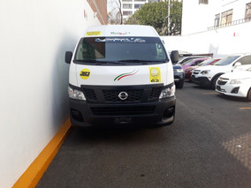 Nissan 2015 Nv 350 Urvan Panel Amplia Pasajeros Cd Mp3