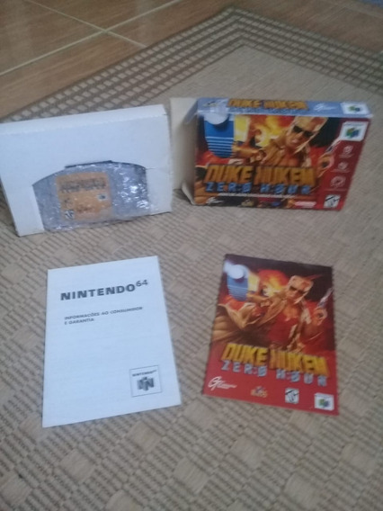 Jogo Cartucho Duke Nukem Zero Hour N64