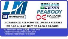 Service Oficial Philco-daewoo-peabody.reparacion De Plaqueta