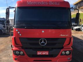 Mercedes Atego 2430 Bitruck 2014 Carroceria Volvo/vw/scania