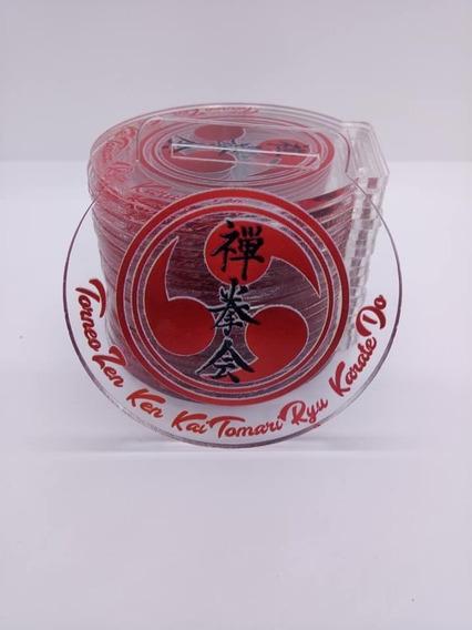 Medallas Karate De Acrilico Full Color