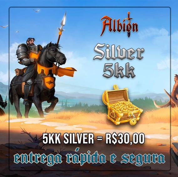 Albion Online 5kk De Silver Barato E C/ Entrega Rápida!