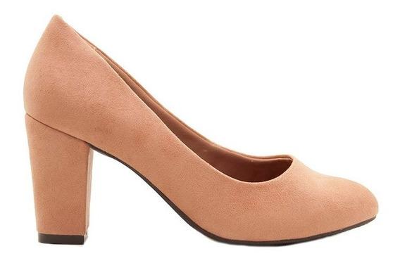 Zapatos Clásicos Mujer Microfibra Capuccino Ramarim