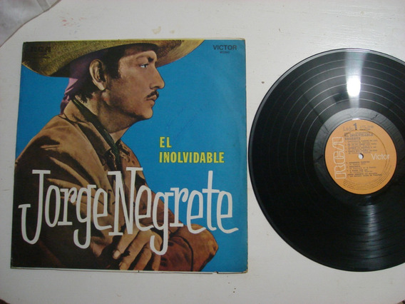 Lp Jorge Negrete El Inolvidable Importado Uruguay