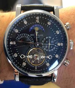 Relógio Patek Philippe Automático , Fundo Preto