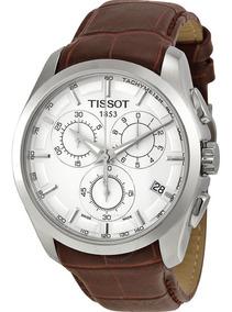 Relógio Tissot Couturier T035.617.16.031.00 Branco Couro