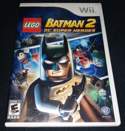 Lego Batman 2 Dc Super Heroes - 100% Original Nintendo Wii