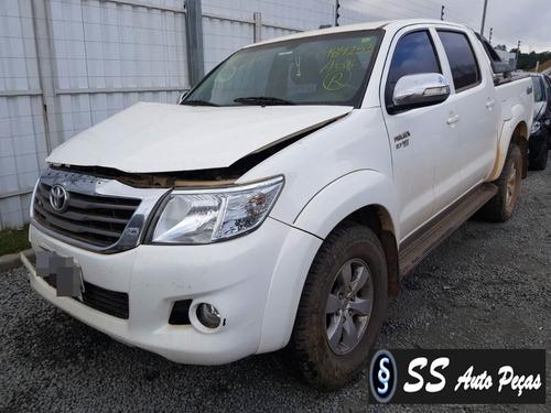 Sucata Toyota Hilux 2014 - Somente Retirar Peças