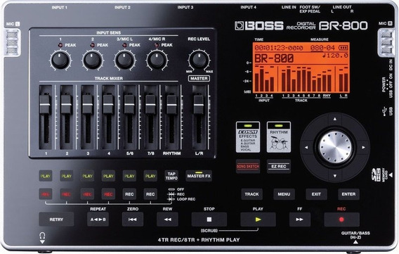 Gravador Digital Boss Br-800 Garantia 1 Ano Nf-e Br 800