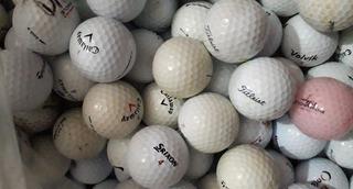 50 Bolas De Golf Usadas Ideal Para Practica X 300 Pesos