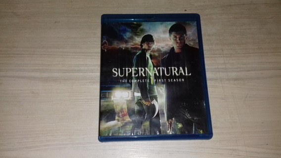 Blu Ray Supernatural 1 Temporada Completa