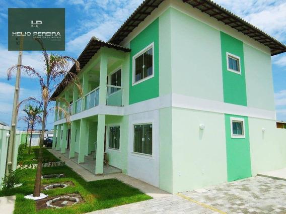 Apartamento Em Itaipuaçu, 2 Quartos, Uma Quadra Da Praia. - Ap0025