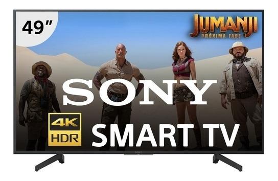 Smart Tv Led 49 Sony Kd 49x705g Ultra Hd 4k Com Conversor