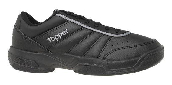 Zapatillas Topper C Tennis Tie Break Iii Hombre Ng/ng