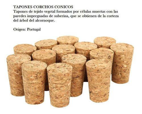 Tapones En Corcho # 12 * 50  Unidades
