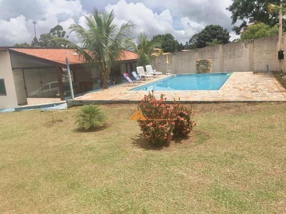 Chácara Com 3 Dormitórios À Venda, 1 M² Por R$ 624.000,00 - Big Valley - Cajuru/sp - Ch0092