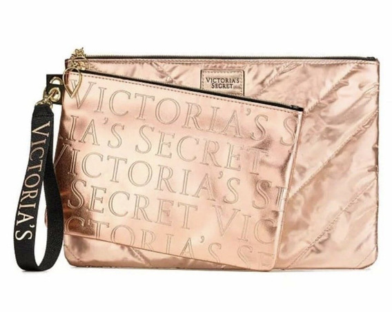 Dúo De Sobres Victorias Secret Oro Rose