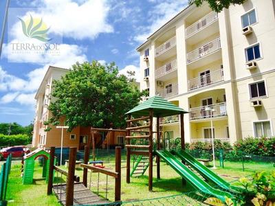 Apartamento No Terraço Dos Ventos Com 3 Quartos - Ap0574