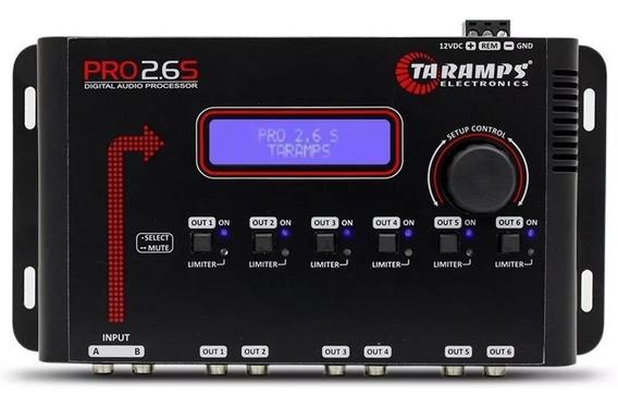 Processador De Áudio Digital Pro 2.6s Taramps 6 Saidas