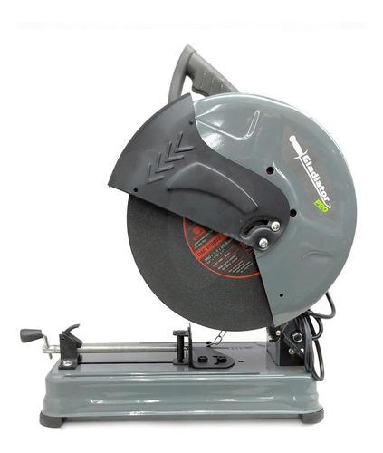 Tronzadora Sensitiva 14  2500w + 3 Discos Gladiator