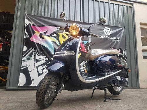 Scooter Gilera Piccola 150 0km 2021 Negro Tempo Al 30/4