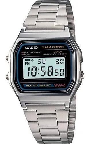 Relógio Masculino Casio Digital Esportivo A158wa
