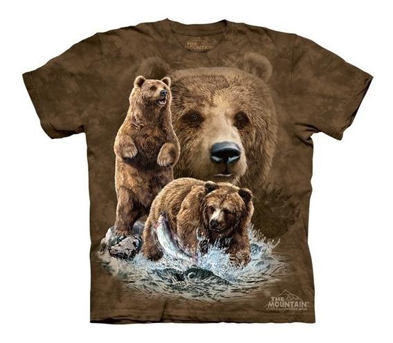 Playera 4d - Unisex Infantiles - 3482 Find 10 Brown Bears.