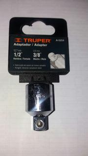 Dado Adaptador Rachet De 1/2 A 3/8 Truper A5254