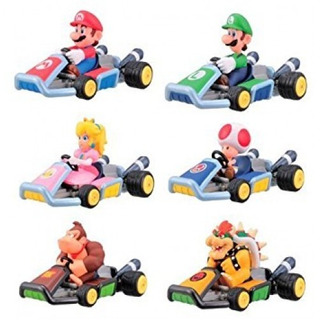 Autos A Traccion De Coleccion Mario Kart Set De 8