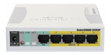 Mikrotik- Routerboard Rb 260gsp