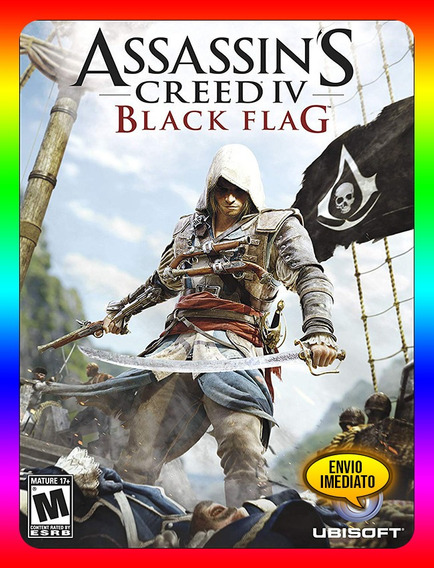 Assassins Creed Iv Black Flag Pc - Steam Key (envio Já)