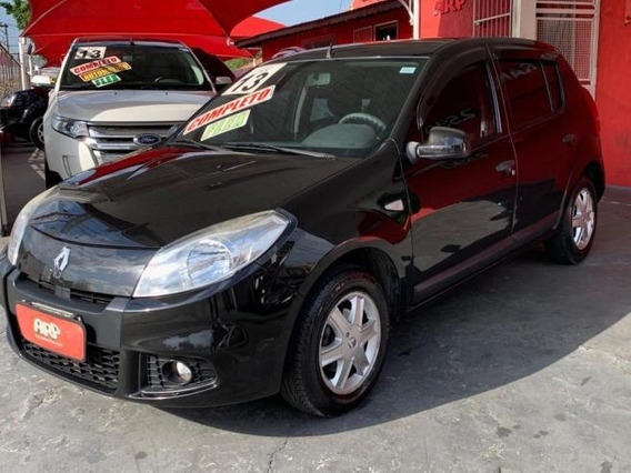 Renault Sandero Expression 1.6 Flex 2013 Preto