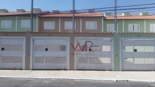 Sobrado Com 2 Dormitórios À Venda, 66 M² Por R$ 310.000,00 - São Miguel Paulista - São Paulo/sp - So0495