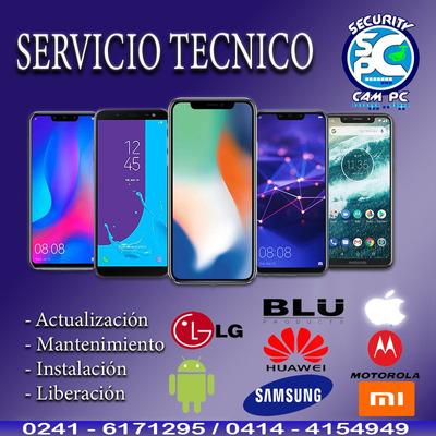 Servicio Técnico De Celulares, Instalaciones, Software