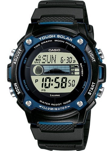 Reloj Casio Core Tough Solar W-s210h-1