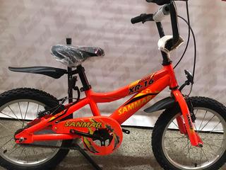 Bicicletas Rodado 16 Aluminio