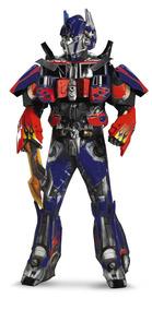 Traje Supremo Teatral 3d Optimus Prime - Para Hombre Xl 4