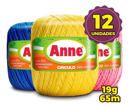 Linha Anne 65 Metros - Círculo - Kit 12 Unid * Promoção