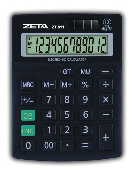 Calculadora De Mesa 12 Digitos 811 Zeta