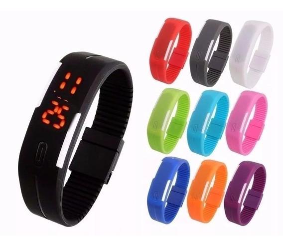Relógio Esportivo Led Pulseira Digital