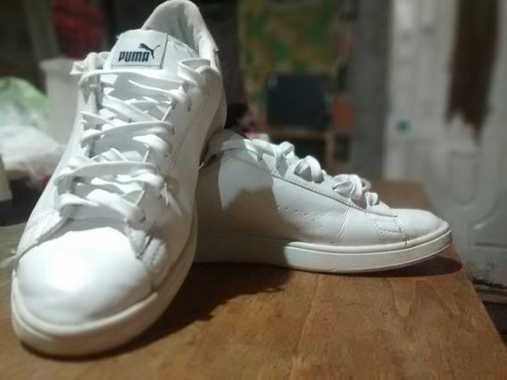 Zapatillas Puma Hombre 10us Blancas Talle 43