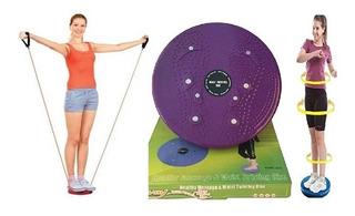 Disco De Equilibrio Com Elastico Roda Exercicio Balance Boar