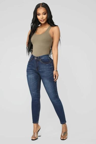 Pantalones Importados, Jeans Altos Para Damas