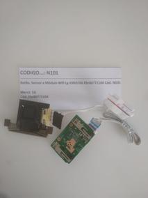 Botão,sensor E Módulo Wifi Lg 43lh5700 Ebr80772104 Cód. N101