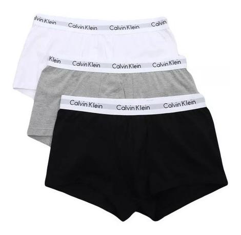 Kit Com 3 Cuecas Trunk Calvin Klein Original Algodão Boxer