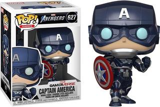 Funko Pop Captain America Stark Tech Suit Video Game
