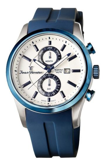 Relógio Cronografo Jean Vernier Vj6359
