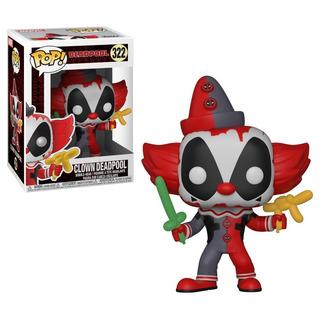 Funko Pop - Marvel - Clown Deadpool #322 - Nuevo - Nextgames
