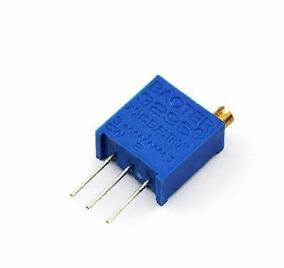 Trimpot Potenciômetro 3296w Multi Voltas 5k 10pçs